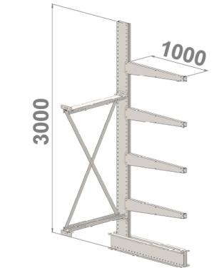Konsoolriiul lisaosa 3000x1500x1000,5 korrust