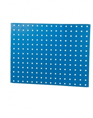 Perforated sheet 950x950mm, blue RAL5010