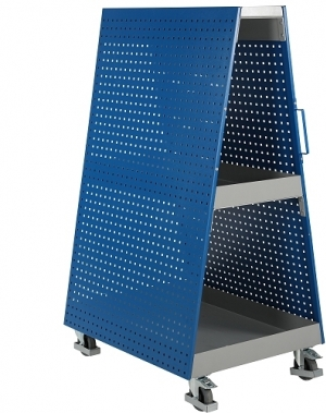 Tool panel with wheels 1000x1660x750mm/400 kg.