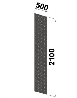 Perforerad gavel 2100x500