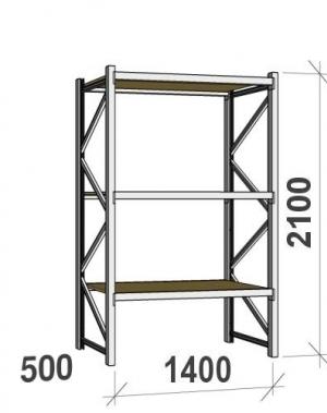 Laoriiul põhiosa 2100x1400x500 600kg/tasapind,3 PLP tasapinda