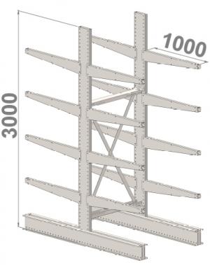 Starter bay 3000x1500x2x1000,5 levels