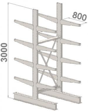 Starter bay 3000x1500x2x800,5 levels