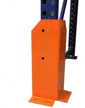 Postikaitse L-kujuline h=400mm, avadega, oranþ