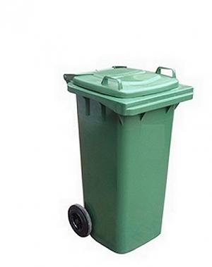 Prügikonteiner 140L roheline