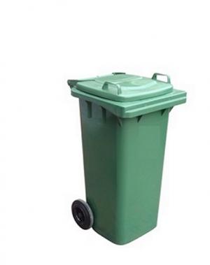 Prügikonteiner 80L roheline
