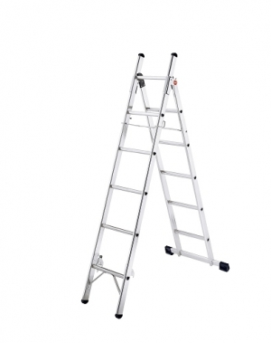 Kombineeritud redel 6+5 astet