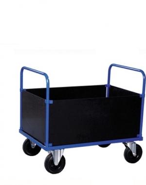 Kaubakäru kastiga 1000x700x900mm, 500kg  (SERV 400)