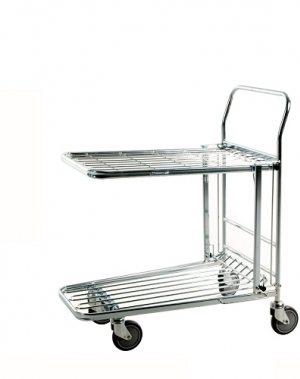 In-Store trolley 2 shelves 860x530x1010mm