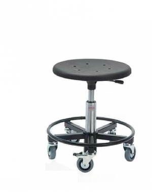 Taburet Sigma 400RS ratastega, kõrgus 370-500 mm