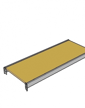 Tasapind 2400x900, 300kg puitlaastplaat MAXI
