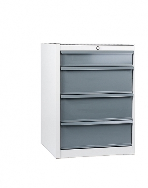 Drawer cabinet, 4 drawers 550x500x725