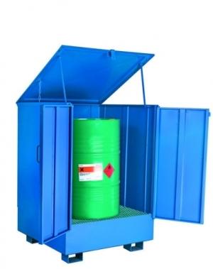 1 drum standing enclosed 950x950x1330