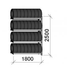 Add On Bay 2500x1800x500, 4 levels