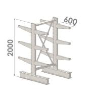 Starter bay 2000x1000x2x600,4 levels