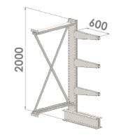 Add On bay 2000x1000x600,4 levels