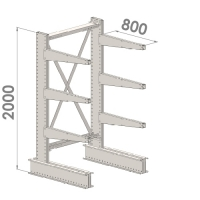 Starter bay 2000x1000x800,4 levels
