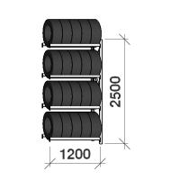 Rehviriiul lisaosa 2500x1200x500,4 korrust