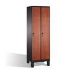 2-door locker, 1850x610x500, MDF doors