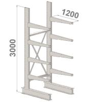 Grenställ startsektion 3000x1000x1200,8 x arm