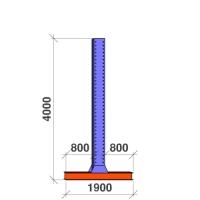T-post 4000x2x800