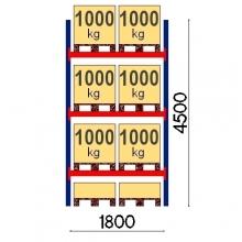 Starter bay 4500x1800 1000kg/pallet,8 EUR pallets OPTIMA