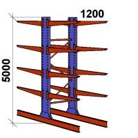 Starter bay 5000x1500x2x1200,5 levels