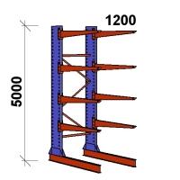 Konsoolriiul põhiosa 5000x1500x1200,5 korrust