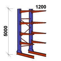 Starter bay 5000x1500x1200,5 levels