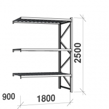 Laoriiul jätkuosa 2500x1800x900 480kg/tasapind,3 tsinkplekk tasapinda