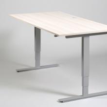 Elektriline töölaud, 1600x800, melamiin, h 610-1260mm