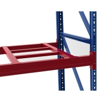 H-pallet support bar W850xD1150mm, 60*40*1,5