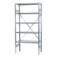 Starter bay 2100x1000x300 used, 5 shelves