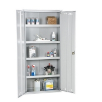 Chemical cabinet 1950x920x420 collapsible grey