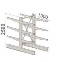 Starter bay 2500x1500x2x1000,4 levels