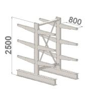 Starter bay 2500x1500x2x800,4 levels
