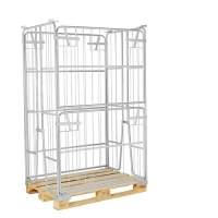 Pallet cage 1200x800x1800 opening long side