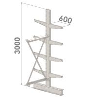 Konsoolriiul lisaosa 3000x1500x2x600,5 korrus