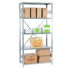 Starter bay 2100x1000x600 uded, 5 shelves