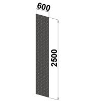 Side sheet 2500x600 perforated