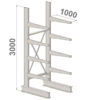 Grenställ startsektion 3000x1500x1000,8 x arm