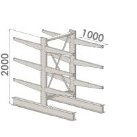 Starter bay 2000x1500x2x1000,4 levels