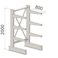 Starter bay 2000x1500x800,4 levels