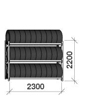 Rehviriiul põhiosa 2200x2300x500,3 korrust