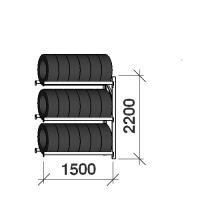 Rehviriiul  lisaosa 2200x1500x500,3 korrust