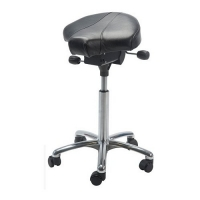 Saddle stool Gamma Alu50