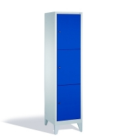 3-tier locker, 3 doors, 1850x420x500 mm