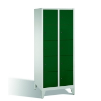 5-tier locker, 10 doors, 1850x810x500 mm