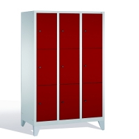 3-tier locker, 9 doors, 1850x1200x500 mm
