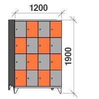 Sektsioonkapp, 16 ust, 1900x1200x545 mm